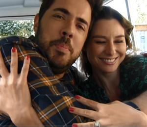 Ceylão e Lavínia: amizade sincera (Foto: Renata Viot/Gshow)