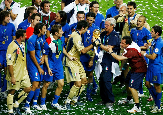 Buffon Itália Copa do Mundo 2006 (Foto: Getty Images)