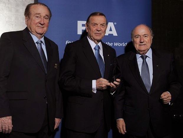 Reunião do Comitê Organizador na FIFA (Foto: Divulgação / Site Oficial da FIFA)
