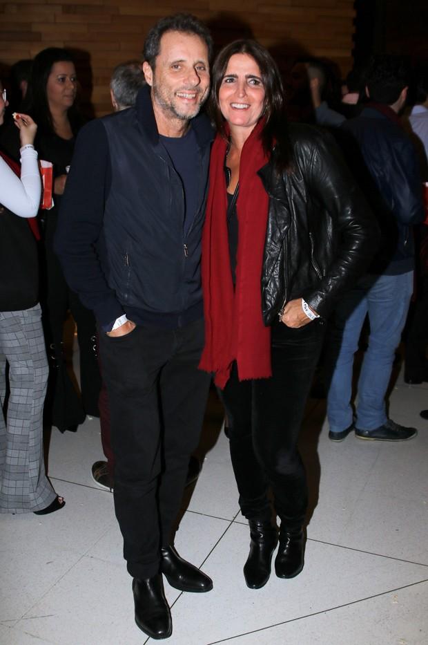 Tony Bellotto e Malu Mader (Foto: Thiago Duran/AgNews)