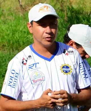 Marcus Vinícius técnico São José (Foto: Danilo Sardinha/GloboEsporte.com)