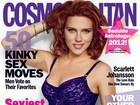 Scarlett Johansson a revista sobre casamento: 'melhor coisa que fiz'