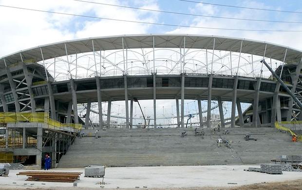 obras estádio Arena Fonte Nova Copa 2014 Fifa (Foto: Divulgação / FIFA.com)
