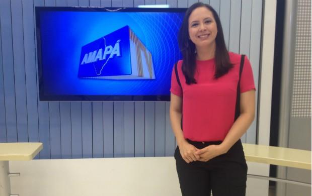 Aline completa 31 anos com muita história no jornalismo amapaense (Foto: Jorge Abreu/Rede Amazônica AP)