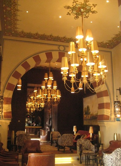Interior do hotel Old Cataract, que durante seus anos de história recebeu hóspedes como Agatha Christie, o czar Nicolau da Rússia e Winston Churchill (Foto: Agência EFE)