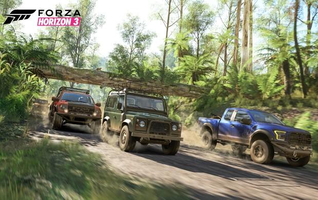 'Forza Horizon 3' acontece na Austrália (Foto: Divulgação/Microsoft)