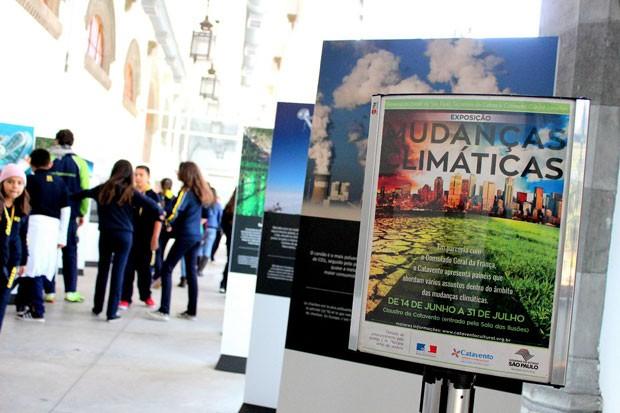 Exposição Mudanças climáticas, no Museu Catavento (Foto: Divulgação)