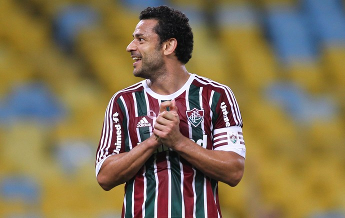 Fred Fluminense x Atlético-MG (Foto: Paulo Sergio / Photocâmera)