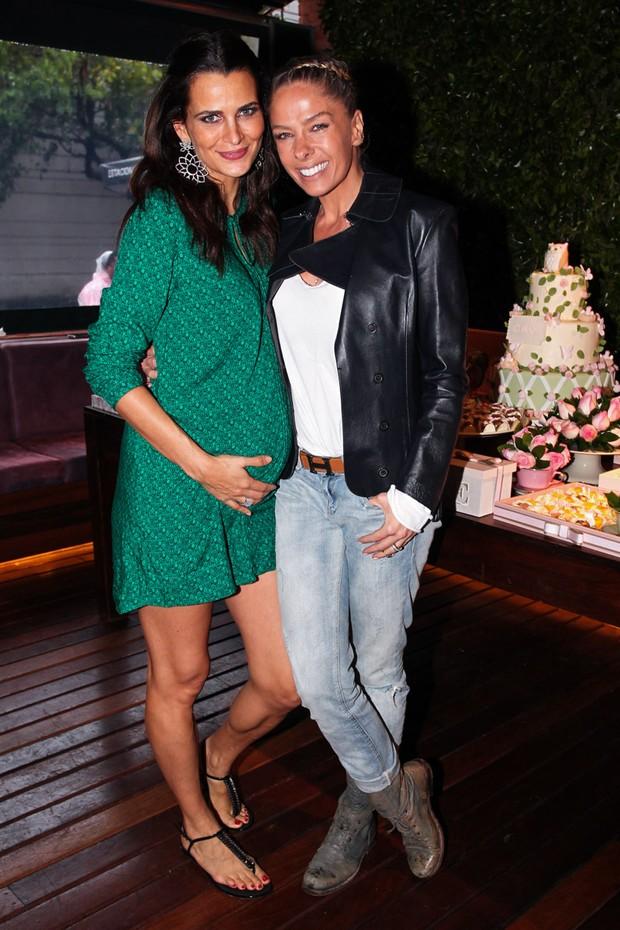 Adriane Galisteu e Fernanda Motta (Foto:  Marcos Ribas e Manuela Scarpa/Foto Rio News)