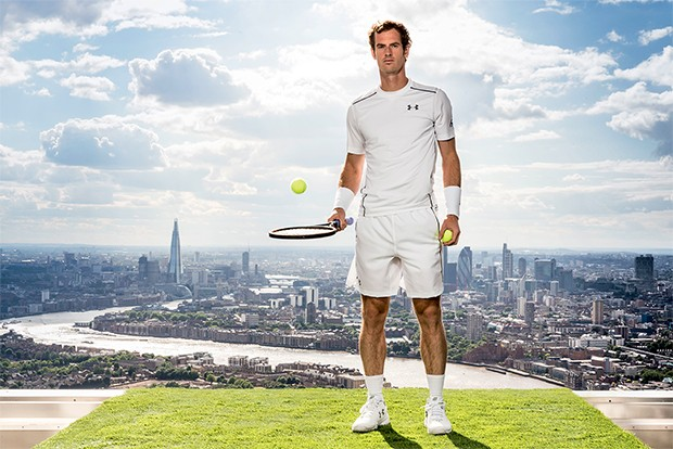 Canary Wharf, London: UNDER ARMOUR POWERS ANDY MURRAY TO THE NEXT LEVEL FOR WIMBLEDON (Foto: Divulgação/Under Armour)