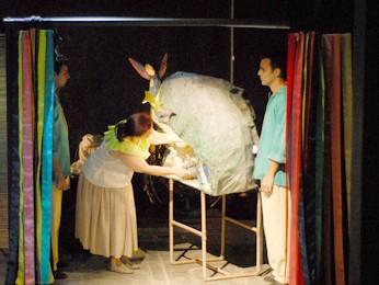Grupo Piraquara estreia peça inspirada no folclore e cultura regional (Foto: Divulgação/ Grupo Piraquara)