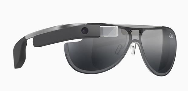 Google Glass assinado pela estilista Diane Von Furstenberg (Foto: Divulgação)