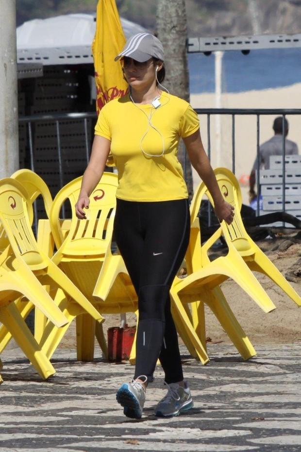 Patricia Poeta no Rio (Foto: J.Humberto/AgNews)