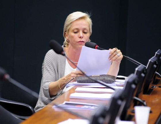 A deputada federal Cristiane Brasil (Foto: Alex Ferreira/Câmara dos Deputados)