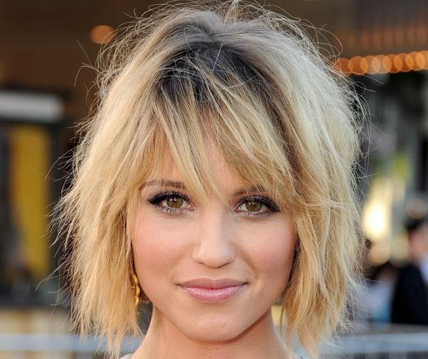 Resultado de imagem para messy hair famosas