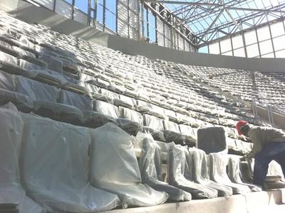 cadeiras arena da baixada (Foto: Divulgação/Kango Brasil)