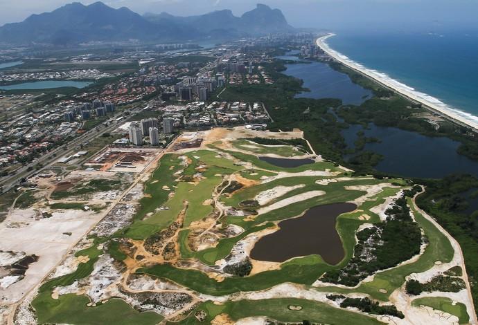 Campo de golfe março de 2015 (Foto: Bruno Carvalho/ME)
