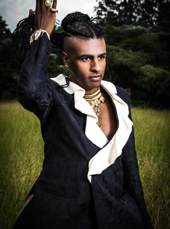 Rico Dalasam (Foto: Henrique Grandi)