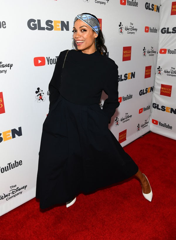 A atriz Rosario Dawson (Foto: Getty Images)