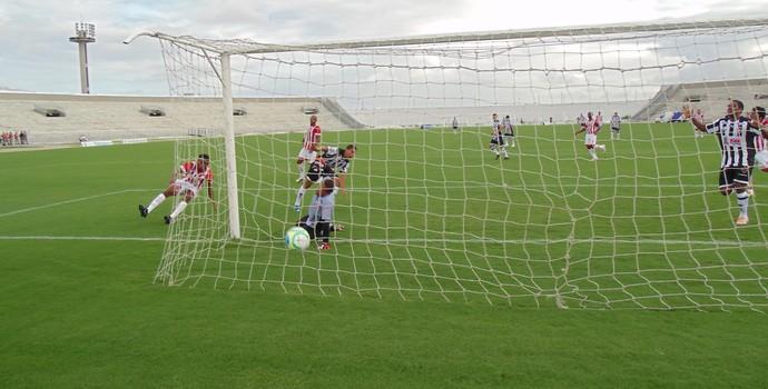 Botafogo-PB x Potiguar de Mossoró, no Estádio Almeidão (Foto: Divulgação / Botafogo-PB)