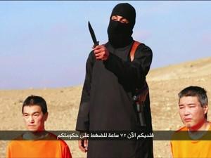 Estado Islâmico exige US$ 200 milhões para libertar japoneses (Foto: GloboNews)