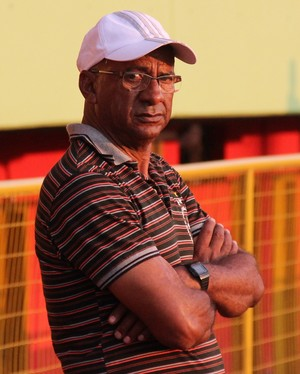 Zezito, técnico Rio Branco-AC (Foto: Duaine Rodrigues)