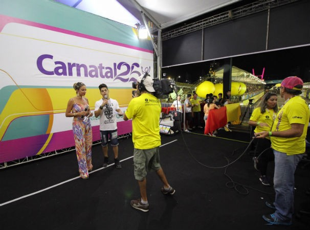 Inter TV monta estrutura para exibir o Carnatal (Foto: Divulgação)