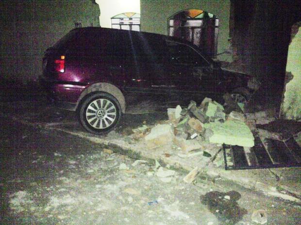 Acidente em Divinópolis (Foto: G1/G1)