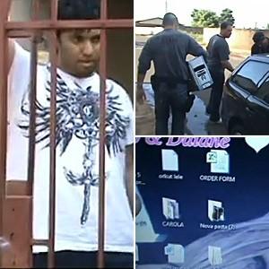 Polícia prende suspeitos de vazar fotos de Carolina Dieckman (Foto: Reprodução)
