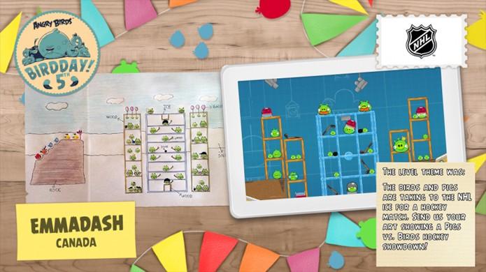 Artes de fãs com variados temas foram convertidas em fases para o primeiro Angry Birds (Foto: Divulgação)