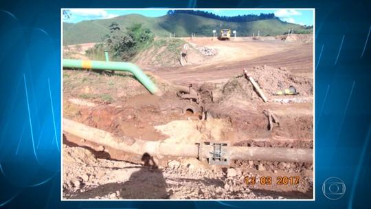 Rompimento em duto de rejeito da Vale atinge rios em Minas