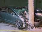 Acidente deixa um morto e quatro feridos no Tremembé, na Zona Norte
