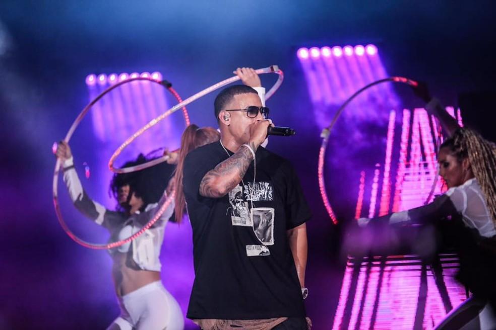 O cantor portorriquenho Daddy Yankee (Foto: Reprodução/Facebook/Daddy Yankee)
