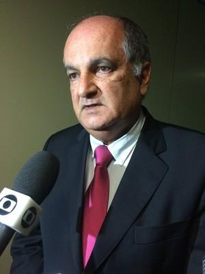 Presidente da Liga Nordeste Alexi Portela (Foto: Fabrício Marques)