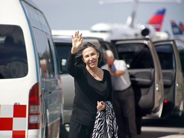 Florinda Meza, viúva de Roberto Bolaños (Foto: Israel Leal/AP)