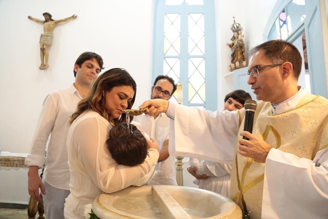 Batizado de Sol (Foto: Reprodução/ Instagram)