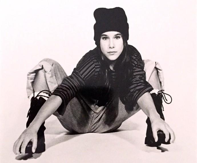 Priscila Fantin foi modelo dos 11 anos aos 15 (Foto: Arquivo Pessoal)