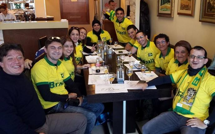 Chapolins Brasileiros handebol servia mundial (Foto: MVP Sports)