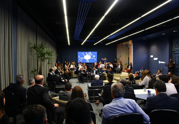 Inauguração do Tree Lab, da Fundação Dom Cabral em parceria com a IBM e MRV (Foto: Divulgação)