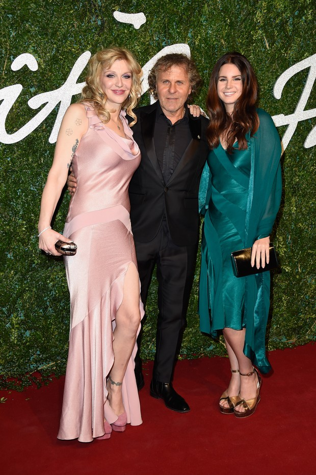 Courtney Love, Renzo Rosso and Lana Del Rey (Foto: Getty Image)