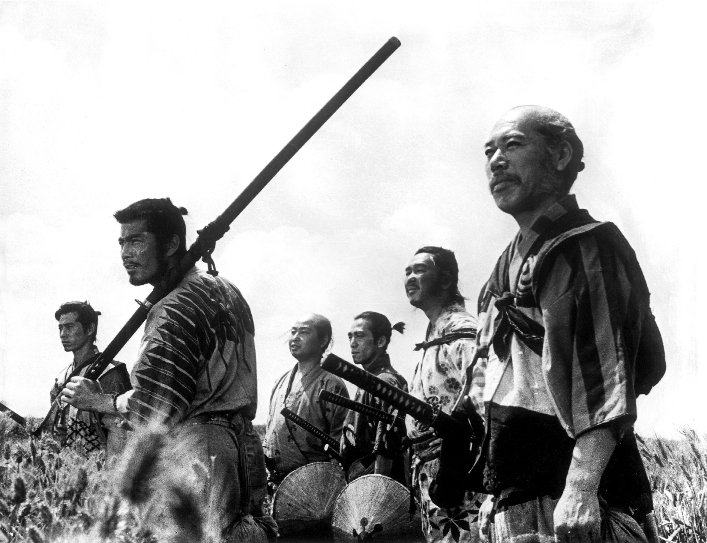Os Sete Samurais (1954) (Foto: Divulgao)