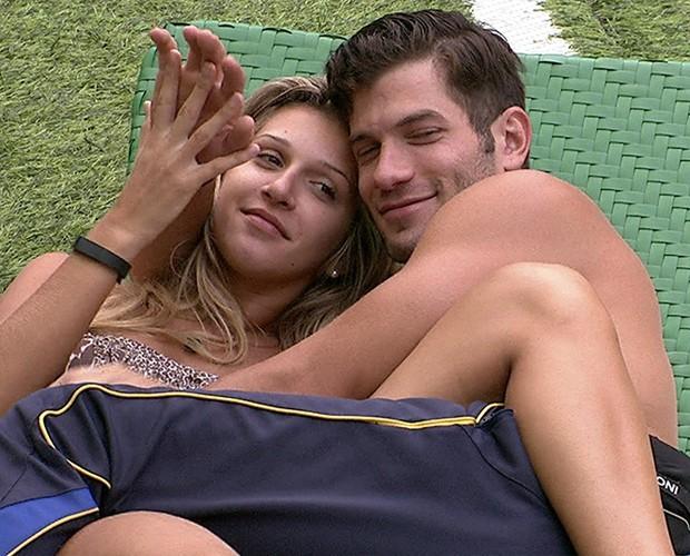 Roni e Tatiele do BBB14 (Foto: TV Globo)
