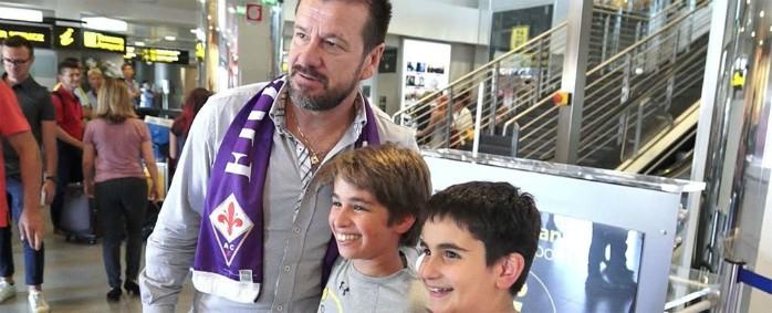 BLOG: Ídolo na área: Dunga visita a Fiorentina em comemoração de aniversário de 90 anos