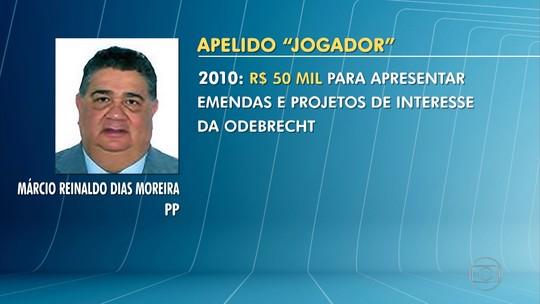 Delação da Odebrecht: Márcio Reinaldo é citado em lista de delator
