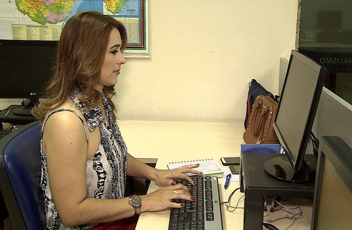 A apresentadora Susane Vidal vai receber uma visita surpresa  (Foto: TV Sergipe)