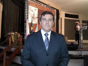 Osmani Barbosa, presidente do Sindicato Rural, que organiza a Expomontes (Foto: Nicole Melhado / G1)