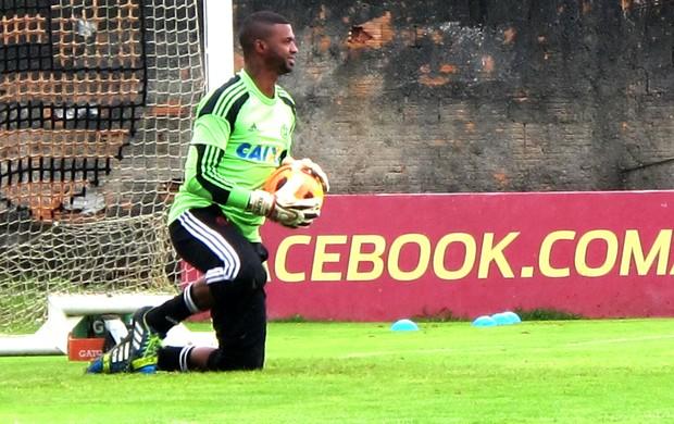 Felipe treino Flamengo (Foto: Janir Junior)