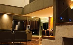 Iluminação automatizada em residência (Foto: Felipe Teixeira)