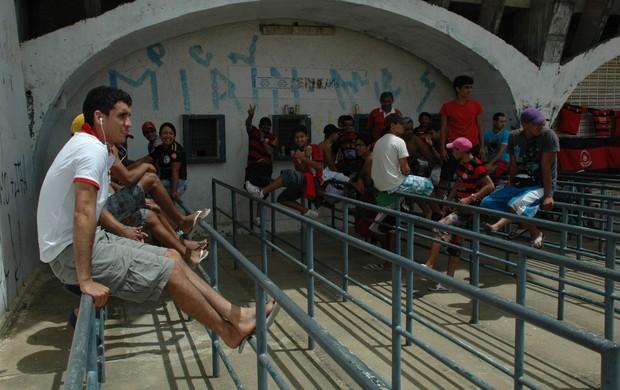 campinense, estádio amigão, fila copa do nordeste, final (Foto: Phelipe Caldas / Globoesporte.com/pb)