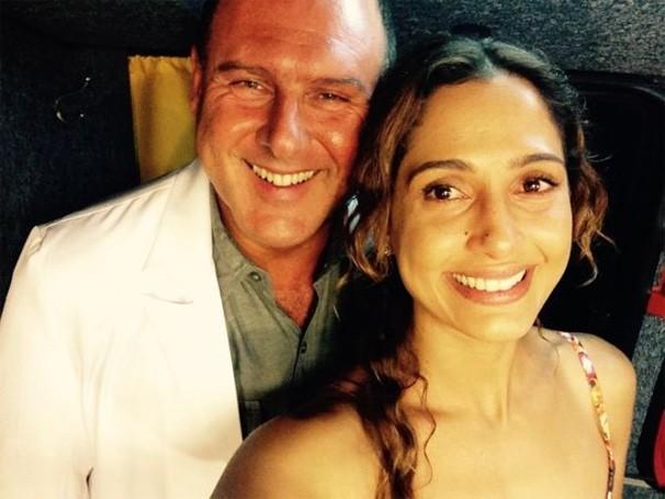 Babilônia João Luiz Fiani e Camila Pitanga (Foto: Reprodução/ Redes Sociais)